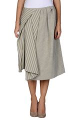 Acne Knee Length Skirt - Lyst