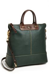 Dooney & Bourke Convertible Shopper - Lyst