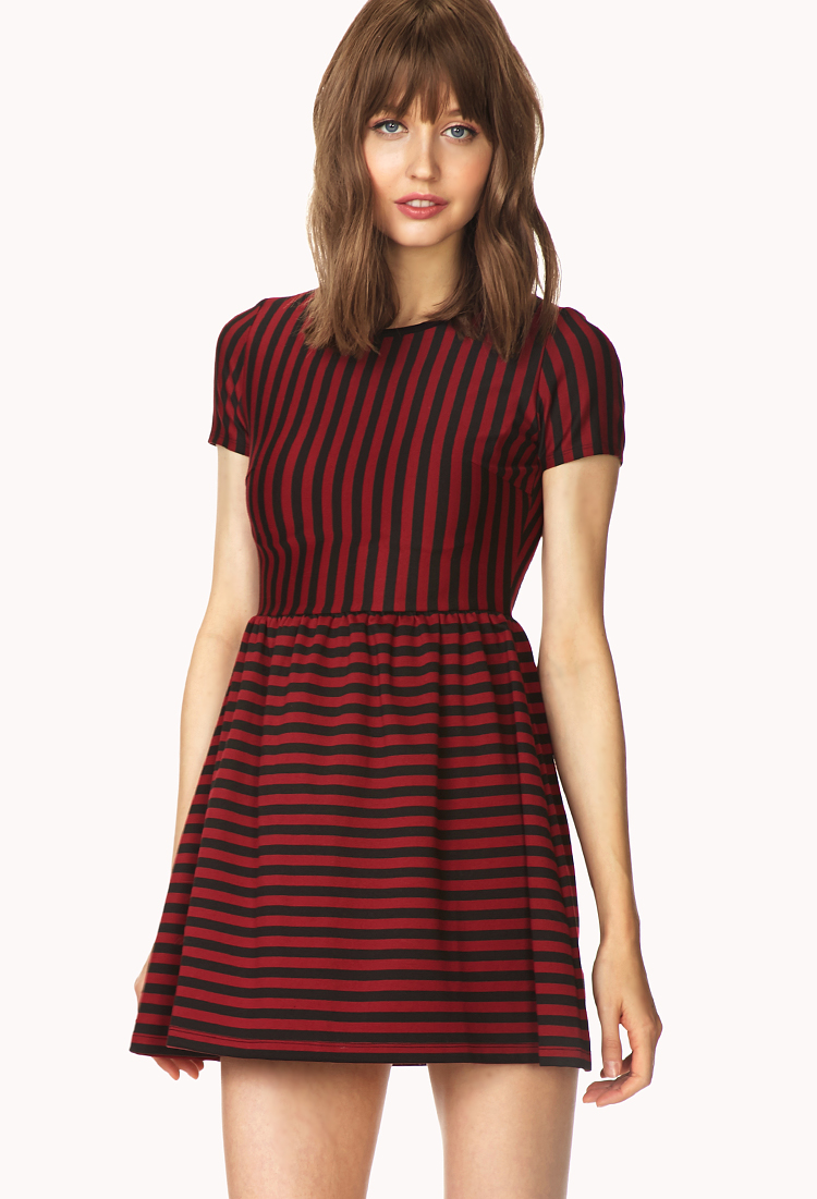 Forever 21 Darling Striped Dress You've Been Added To The Waitlist ...
