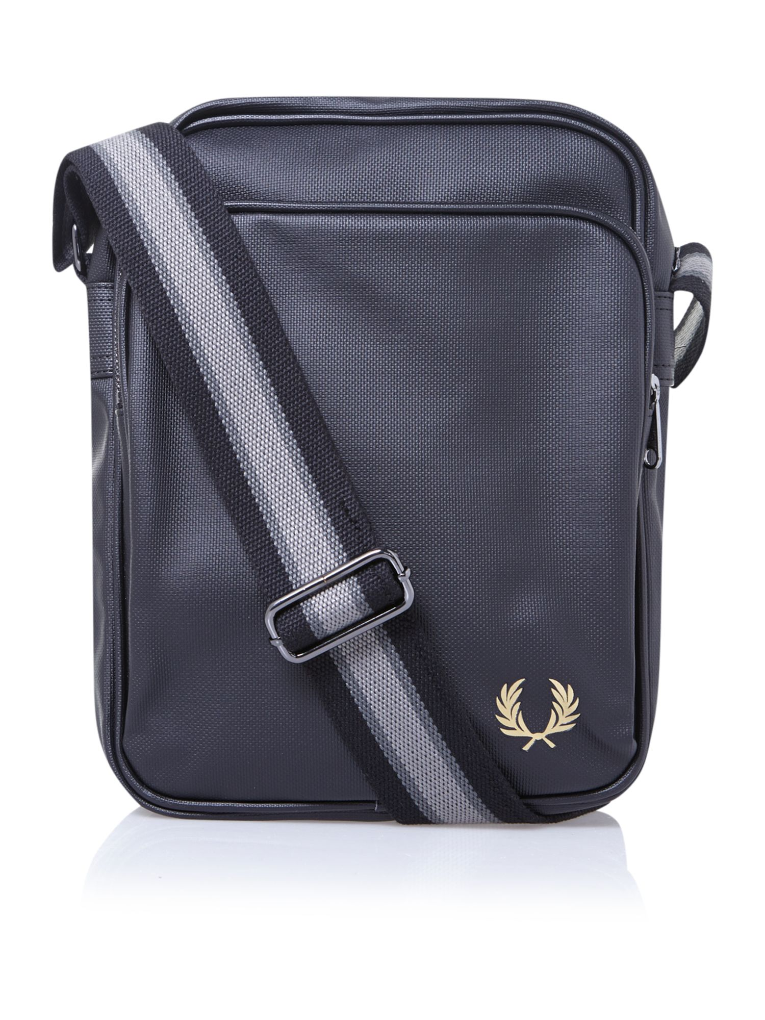 Fred Perry Pattern Man Bag In Black For Men Lyst