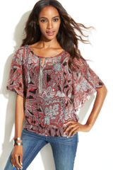 Inc International Concepts Blouse - Lyst
