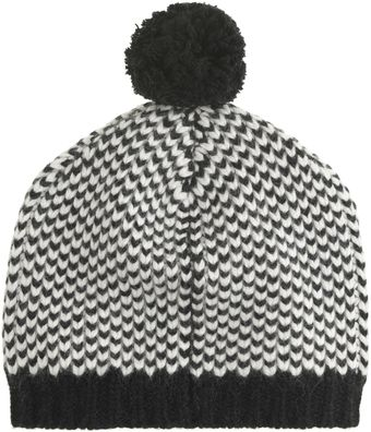 J.Crew Chevron Checker Hat - Lyst