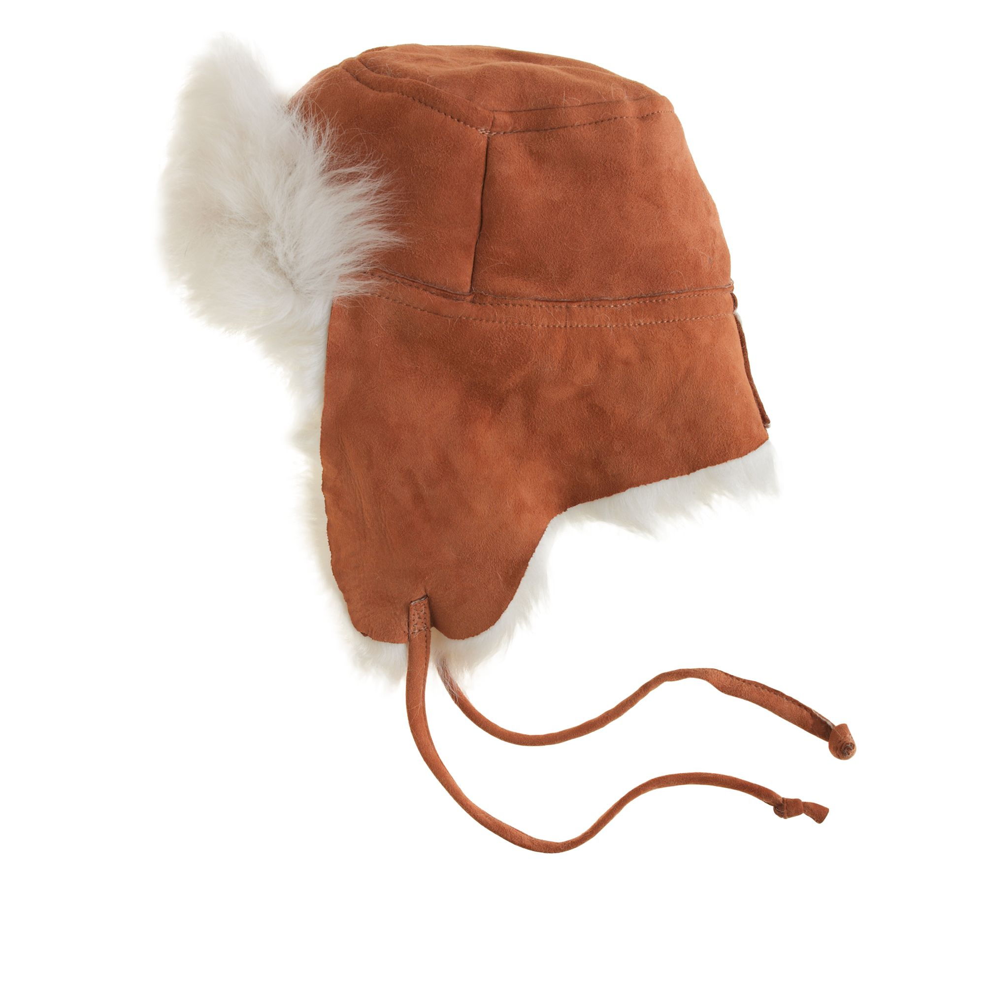 J.Crew Toscana Shearling Trapper Hat in Brown for Men - Lyst deda5bf84aa