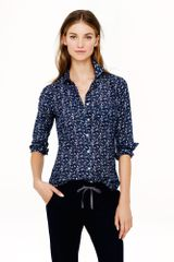 J.Crew Boy Shirt in Bird Print - Lyst