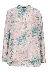 Topshop Willow Print Shirt - Lyst