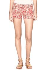 Tory Burch Avery Short Short - Lyst