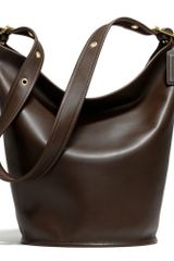 Coach Classic Leather Duffle Bag - Lyst