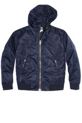 Gant Rugger Nylon Hooded Jacket - Lyst