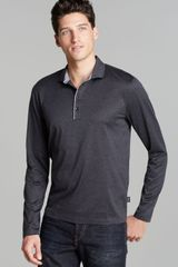 Hugo Boss Slim Mercerized Jersey Polo - Lyst