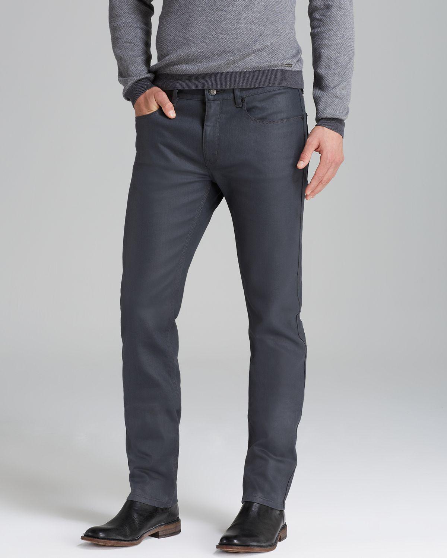 hugo boss grey hugo jeans 734 slim fit in grey product 1 14868188. Black Bedroom Furniture Sets. Home Design Ideas