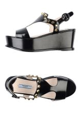 Prada Wedge - Lyst