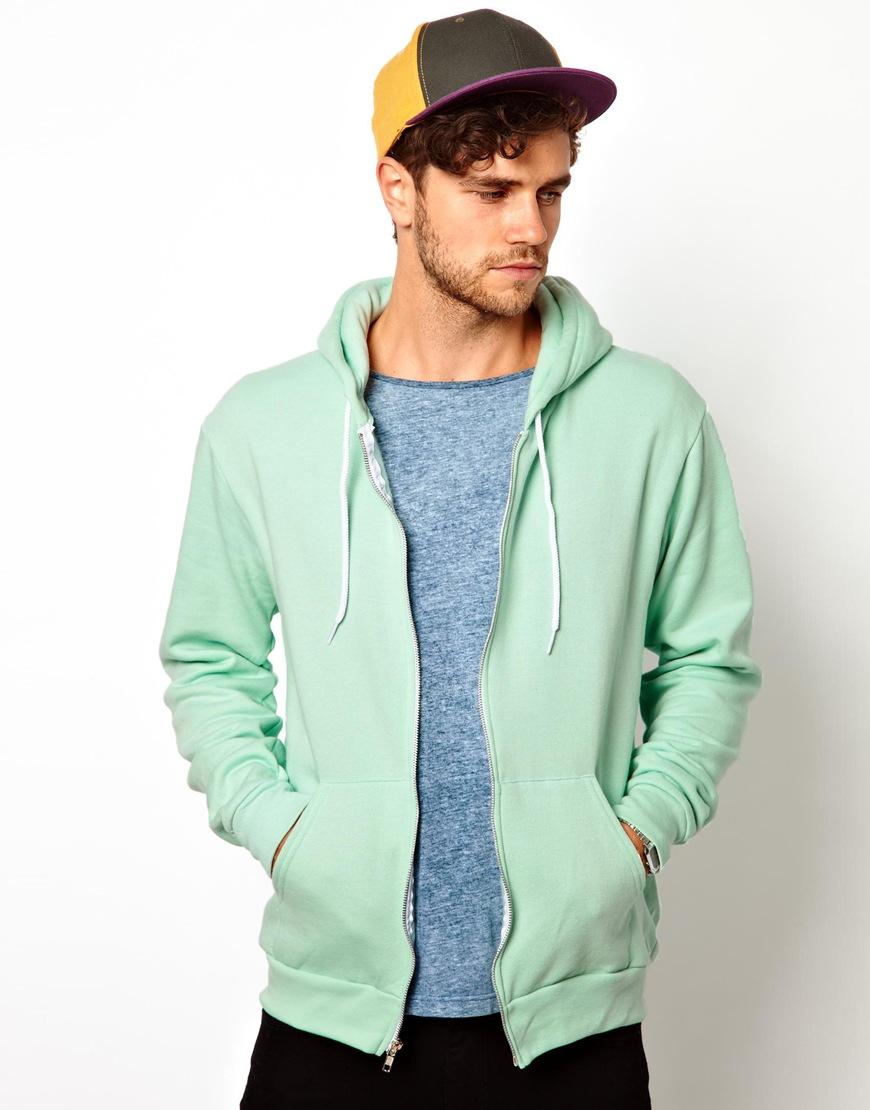 Ymc Hoodie In Green For Men Lyst