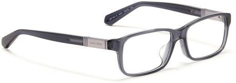 Giorgio Armani Plastic Frame Glasses in Blue for Men (Blue ...