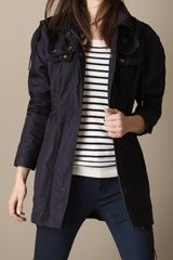Burberry Lightweight Slim Fit Parka - Lyst
