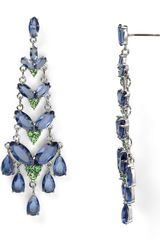 Carolee Girls Night Out Navette Chandelier Earrings - Lyst