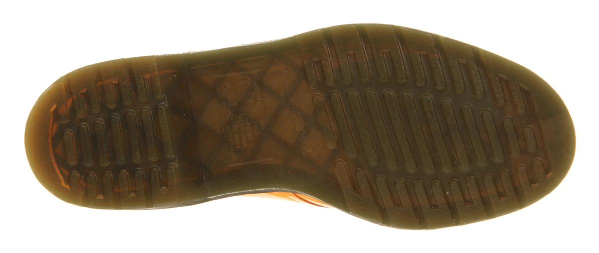 Lyst Dr Martens 3 Eyelet Shoe In Orange