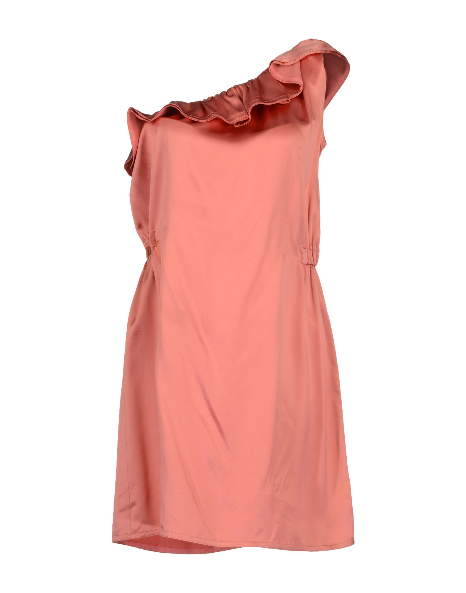 Joseph Short Dress In Pink Pastel Pink Lyst