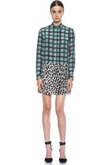 MSGM Mini Dress - Lyst
