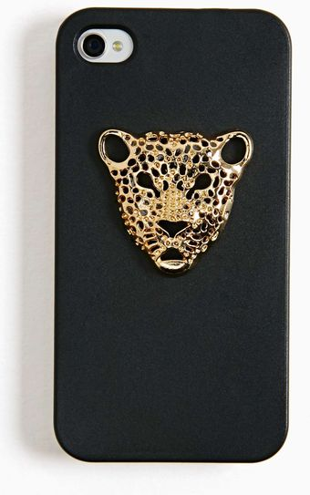 Nasty Gal Jaguar Fever Iphone 4 Case - Lyst