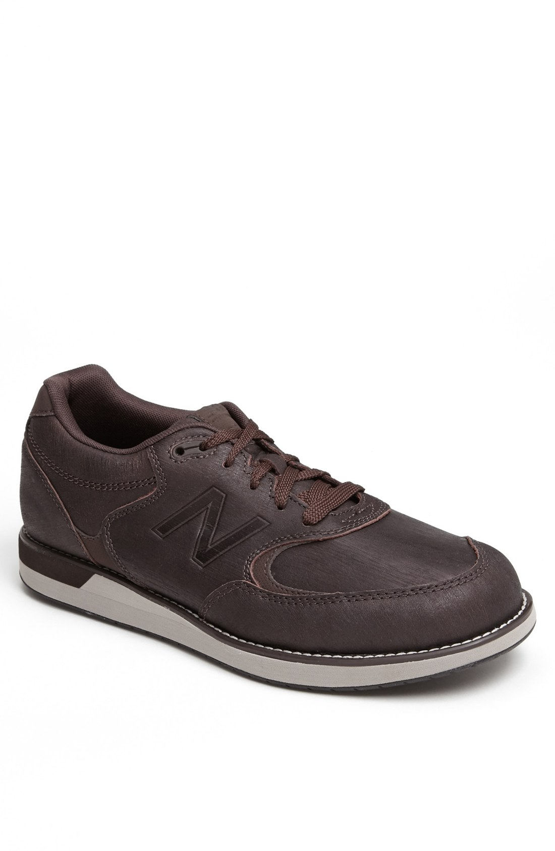 new balance 985 walking shoe in brown for lyst