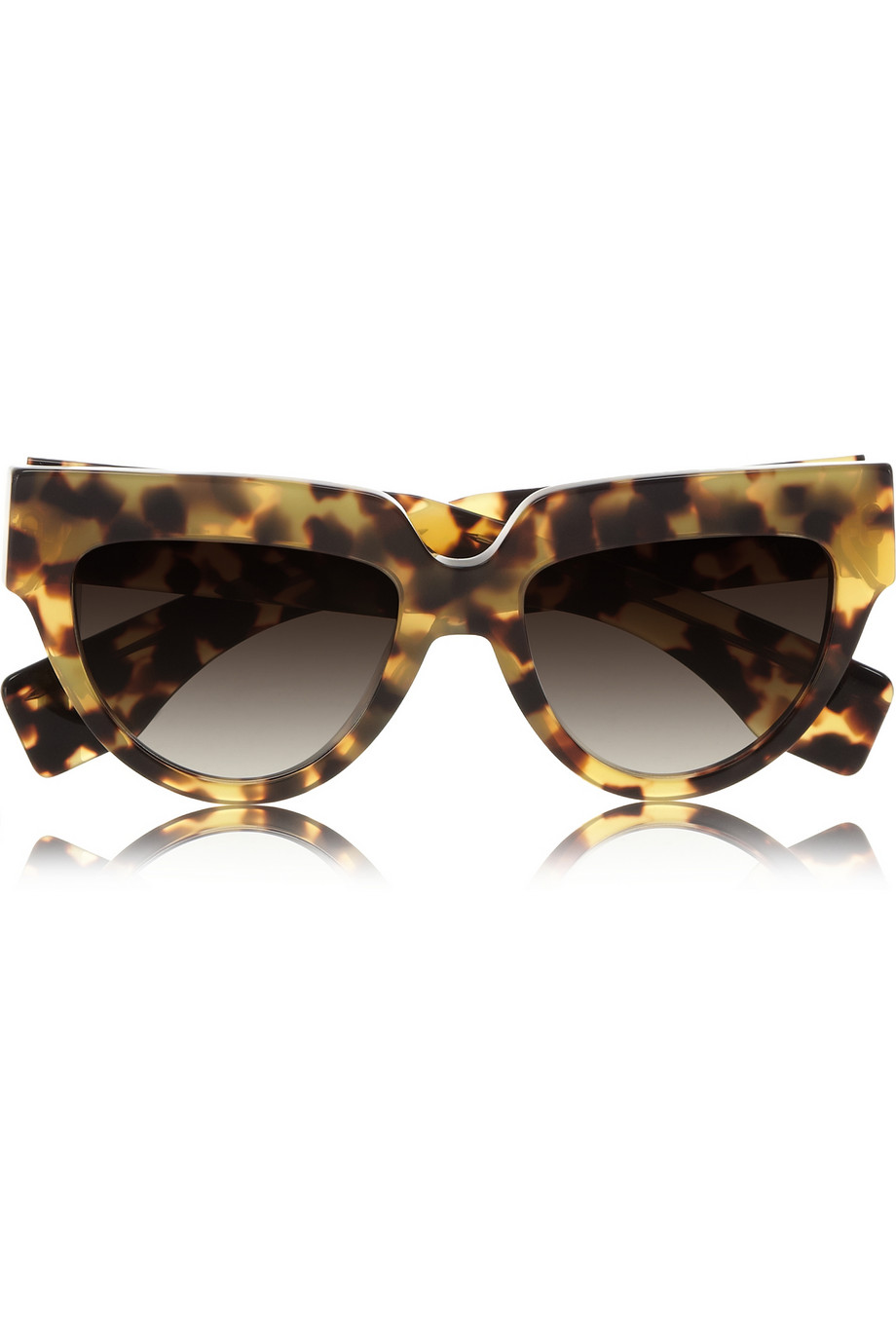 Prada Cat Eye Tortoiseshell Acetate Sunglasses in Animal    Prada Cat Eye Sunglasses 2013