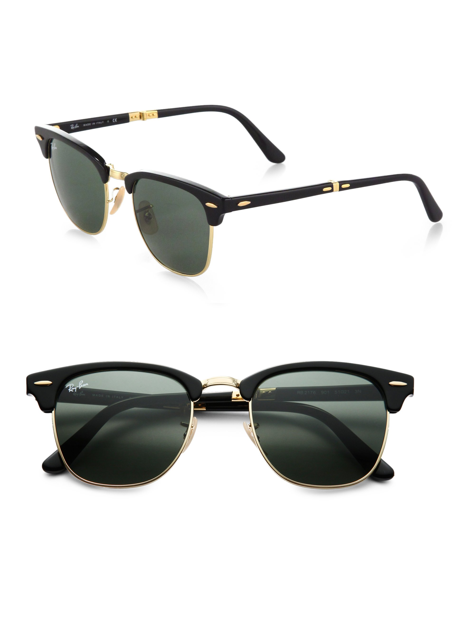 ladies folding ray ban sunglasses  gallery. previously sold at: saks fifth avenue · women's clubmaster sunglasses women's ray ban clubmaster