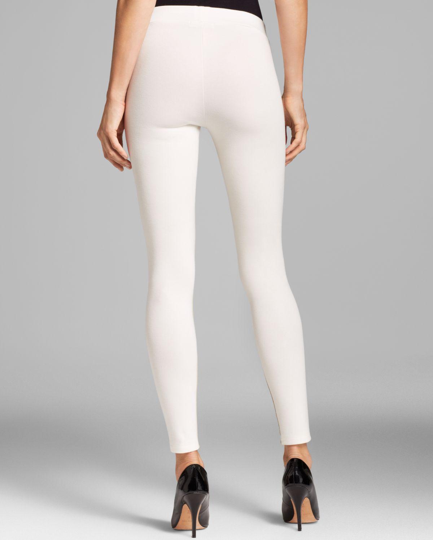 Lyst velvet by graham spencer leggings leticia faux for Diseno de ropa