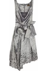 Vivienne Westwood Anglomania Friday Crinkledtaffeta Dress - Lyst