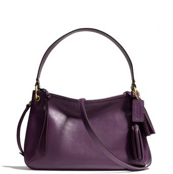 Coach Legacy Double Gusset Crossbody in Leather - Lyst