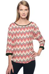 Ella Moss Quill Long Sleeve Top - Lyst