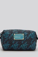 Marc By Marc Jacobs Cosmetic Case Pretty Nylon Terrance Jacquard Small - Lyst