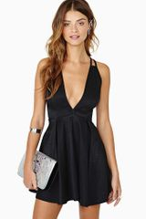Nasty Gal Dark Charmer Dress - Lyst