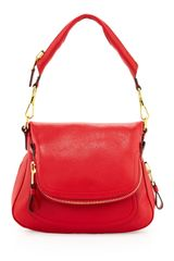Tom Ford Jennifer Medium Shoulder Bag Red - Lyst