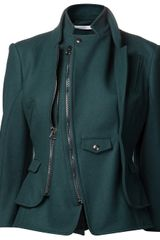 Altuzarra High Collar Suiting Jacket - Lyst