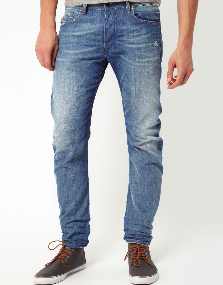 tapered trousers - Blue Diesel VNfSWtmU96