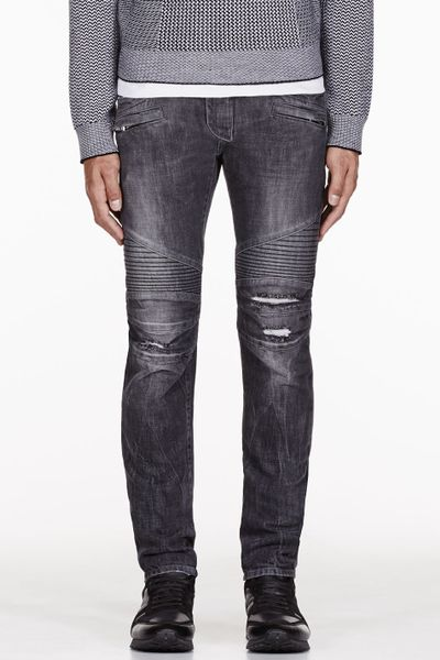 Distressed Skinny Jeans Mens