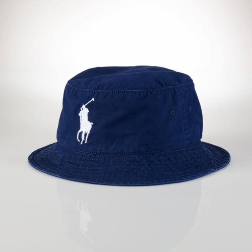 Lyst - Polo Ralph Lauren Beachside Bucket Hat in Blue for Men 198a33b71e0