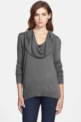 Caslon® Cowl Neck Sweater - Lyst