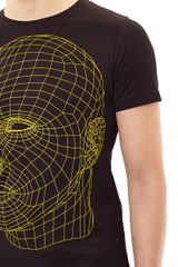 Christopher Kane Digital Headprint Tshirt - Lyst
