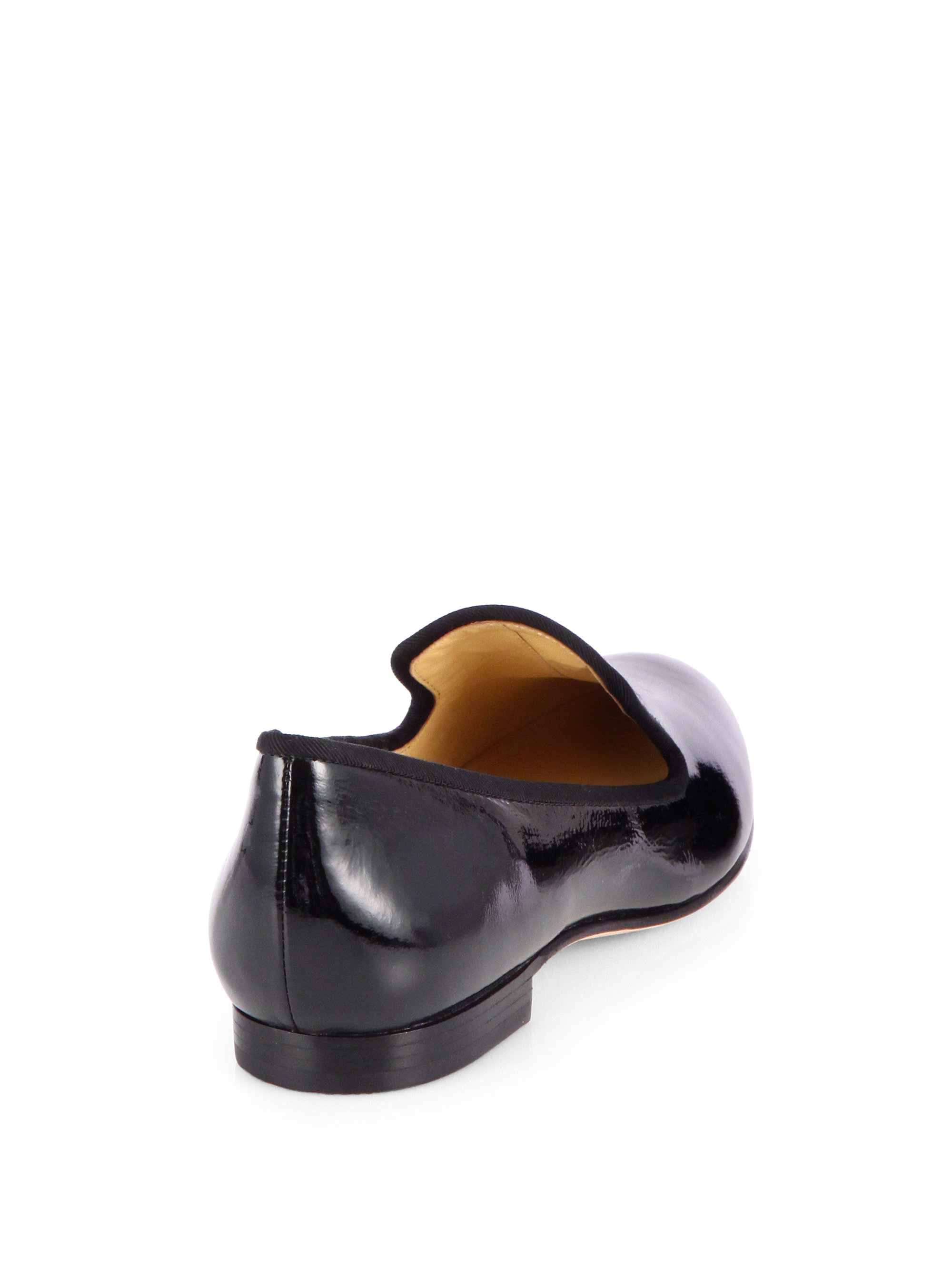 9ed6dabf0df Lyst cole haan sabrina patent leather smoking slippers in black jpg  2000x2667 Cole haan sabrina