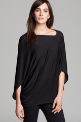 DKNY Asymmetric Three Quarter Sleeve Dolman Tee - Lyst