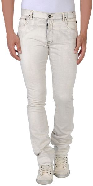 DRKSHDW by Rick Owens Denim Trousers - Lyst