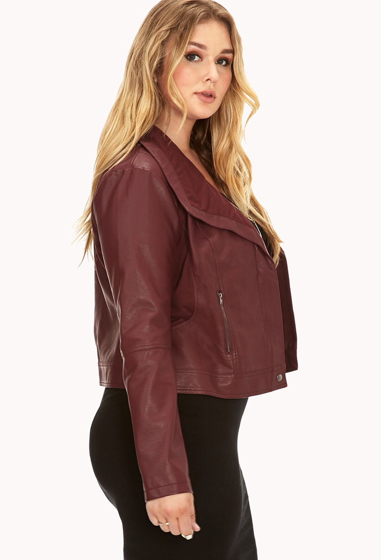 Leather jacket size 18 - Gallery