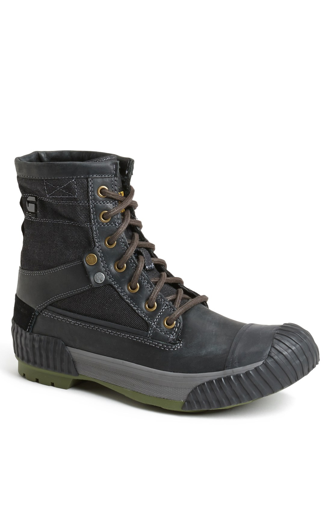 g star raw marker mix boot in black for men lyst. Black Bedroom Furniture Sets. Home Design Ideas
