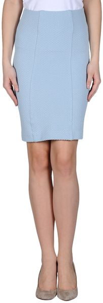 Ganni Knee Length Skirt - Lyst
