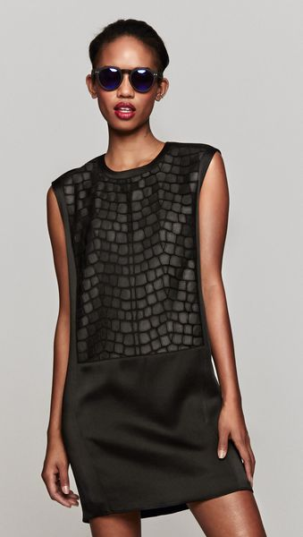 Helmut Lang Fractal Mini Dress - Lyst