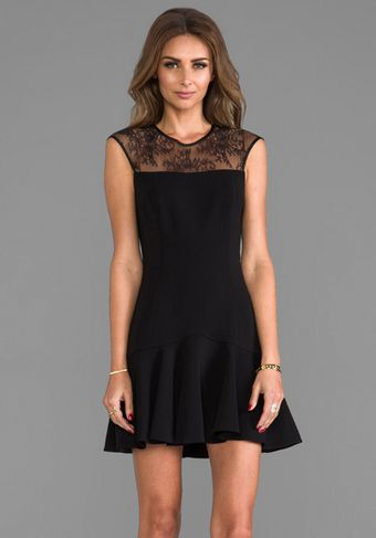 Jay Godfrey Trudeau Dress in Black - Lyst