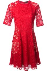 Joseph Agnes Lace Dress - Lyst