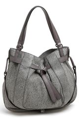 Kooba Parker Leather Satchel - Lyst