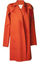 Maison Rabih Kayrouz Long Oversized Coat - Lyst